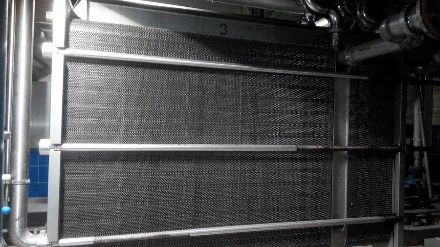 Как почистить теплообменник на промышленном оборудовании модуль-обогрев 140 квт комплект теплообменника